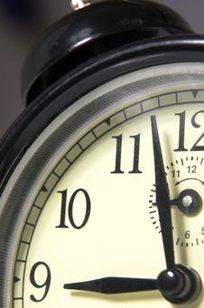 Free Alarm Clock With A Call Stock Photos - 4503143