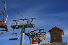 Free Chairlift Royalty Free Stock Photos - 4503698