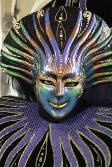 Free Carnival Mask In Venezia Royalty Free Stock Image - 4504306