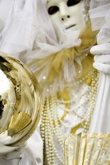 Free Carnival Mask In Venezia Stock Image - 4504321
