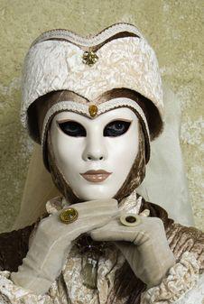 Free Carnival Mask In Venezia Stock Images - 4504324
