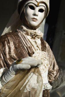 Free Carnival Mask In Venezia Stock Images - 4504334