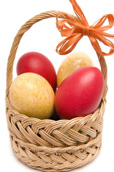 Free Easter Basket. Royalty Free Stock Photography - 4507157