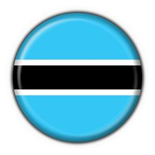 Free Botswana Button Flag Round Shape Stock Photography - 4507202