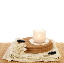 Free Beauty Spa Set Stock Image - 4507221