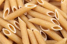 Free Penne Rigate Pasta Background Stock Images - 4507354
