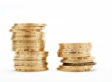 Free Piles Of Coins Royalty Free Stock Photography - 4507407