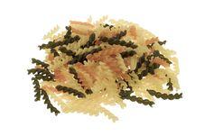 Free Fusilli Tricolore Pasta Stock Images - 4507474