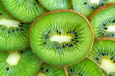 Free Kiwi Slices Background Royalty Free Stock Photography - 4507637