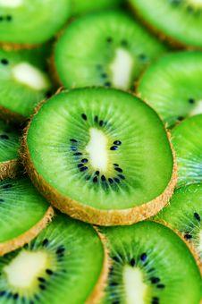 Free Kiwi Slices Stock Photography - 4507642