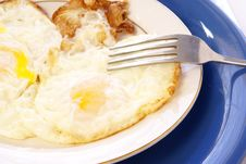Free Fried Eggs Stock Image - 4507721