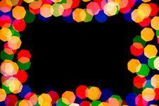 Free Polygon Spots Frame Stock Photos - 4508113