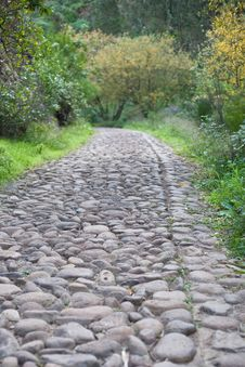 Free Old Stones Road Royalty Free Stock Photos - 4508268