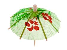 Free Cocktail Umbrella Royalty Free Stock Photography - 4508527