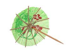 Free Cocktail Umbrella Stock Photography - 4508532