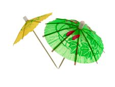 Cocktail Umbrellas Royalty Free Stock Photo