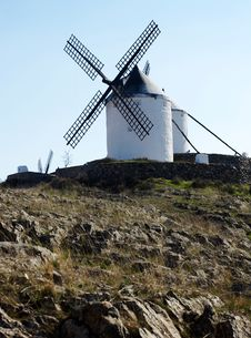Free Spanish Windmill Stock Photo - 4508810