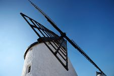 Free Spanish Windmill Royalty Free Stock Images - 4508839