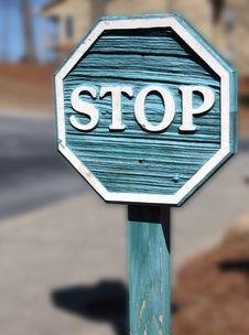 Free Stop Stock Image - 4509961