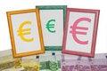 Free Euro Frames Stock Image - 4512541