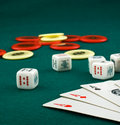 Free Aces, Dice And Chips Royalty Free Stock Photos - 4515228