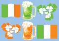 Free Vector Icons Set - St. Patrick S Day Stock Photo - 4517690