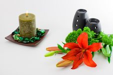 Free Red Lily Scent Stock Images - 4510104