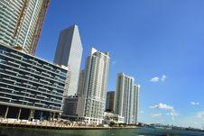 Free New Downtown Miami Stock Photo - 4510720
