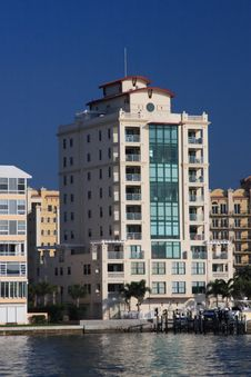 Free Waterfront Apartment Building Stock Photo - 4510750