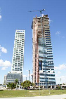 Free New Downtown Miami Stock Image - 4510761