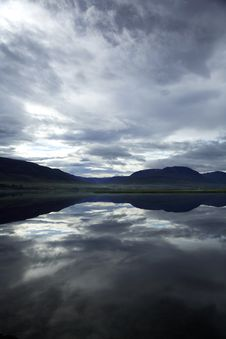 Icelandic Lake Stock Photos