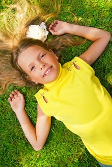 Free Happy Young Girl Royalty Free Stock Image - 4512346