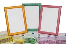 Free Euro Frames Royalty Free Stock Photo - 4512535