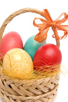Free Easter Basket. Royalty Free Stock Images - 4512569