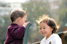 Free Boy And Girl Royalty Free Stock Photography - 4513847