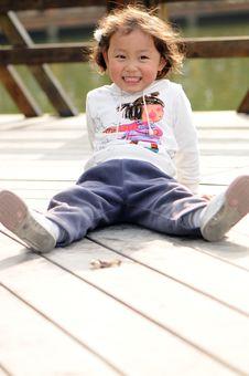 Little Lovely Girl Royalty Free Stock Photo