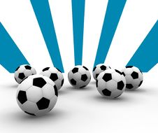 Free Soccer Balls Stock Photography - 4513932