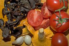 Free Mushrooms Stock Image - 4513981