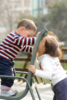 Free Boy And Girl Stock Photography - 4514052
