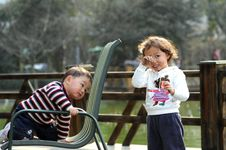 Free Boy And Girl Stock Photography - 4514172