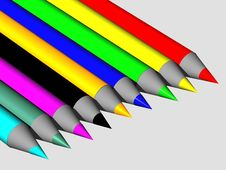 Free Crayons Stock Photography - 4514442