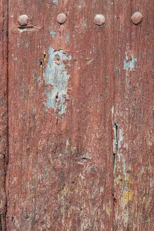 Free Painted Door For Background Stock Photography - 4514812