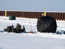 Free Ice Fishing Stock Photography - 4515482