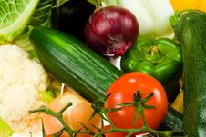 Free Fresh Vegetables Royalty Free Stock Photos - 4515778