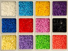 Free Toy Pearls In Many Colors Stock Images - 4515844