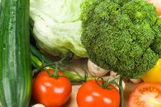 Free Fresh Vegetables Royalty Free Stock Photos - 4515988