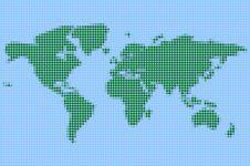 Free World Map Stock Photos - 4516563