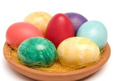 Free Easter Eggs. Stock Photography - 4517522