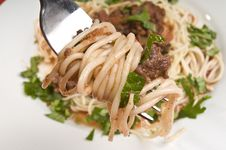 Free Spagheti Bolognese Royalty Free Stock Photography - 4517957
