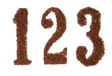 Free Tobacco Numbers 123 Royalty Free Stock Photography - 4518027